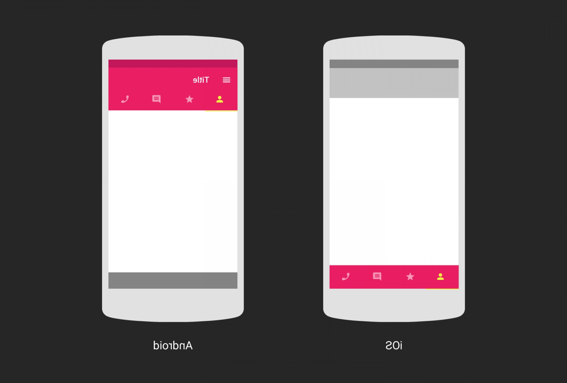 Vectors Buttons And Menus: Design Ios Android And Back Again