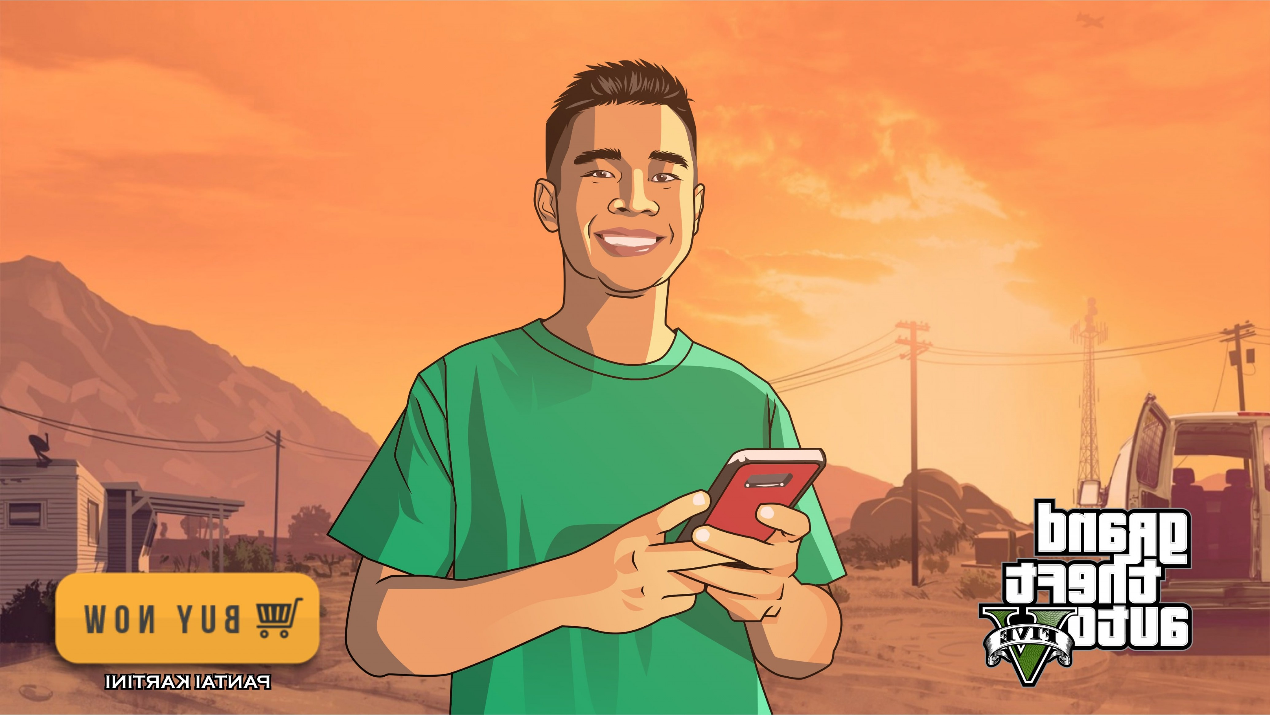 GTA Photo To Vector: Design Vector Cartoons Or Caricatures With Gta Style