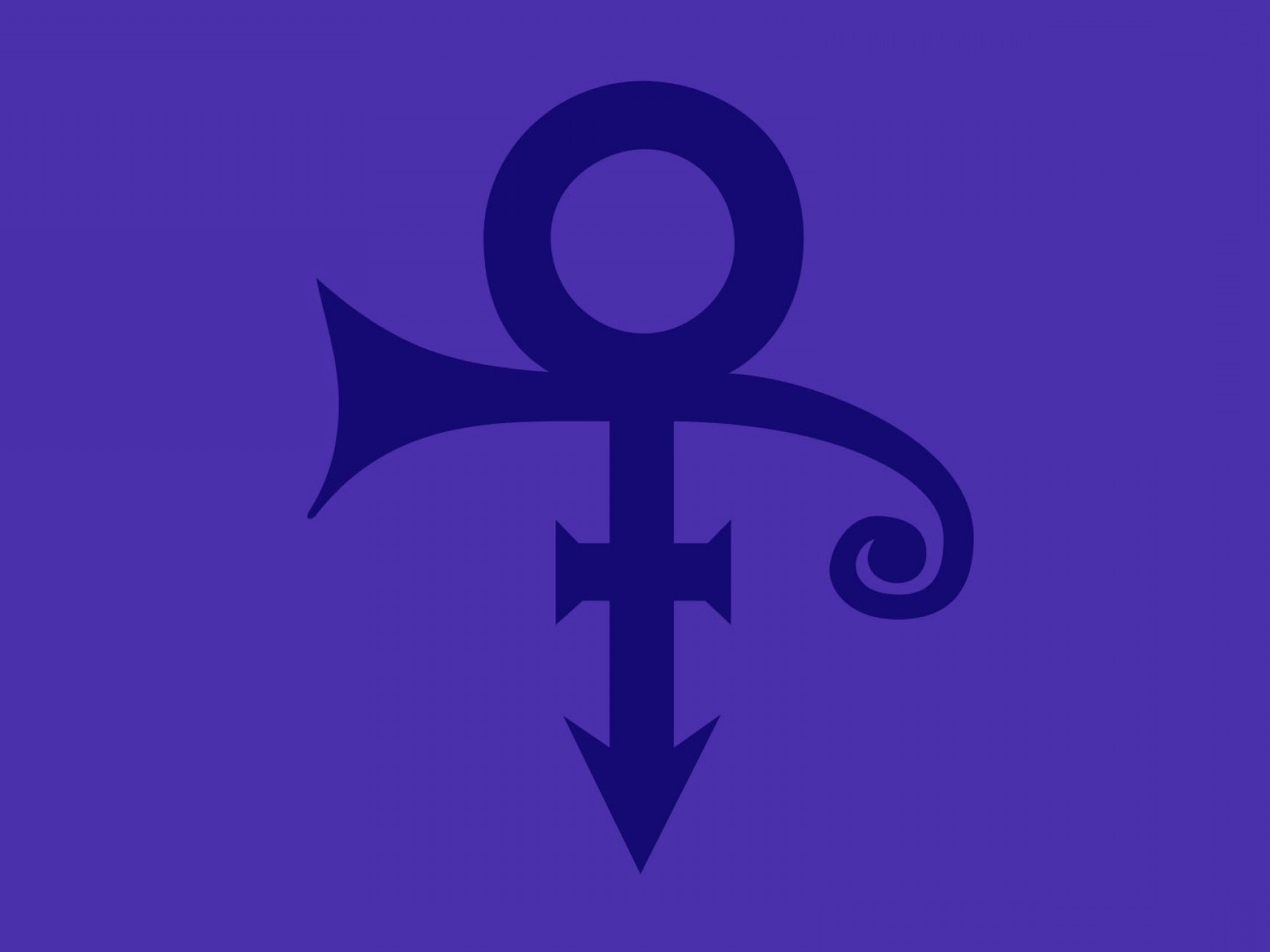 Singer Prince Symbol Vector: Designers Came Princes Love Symbol One Night