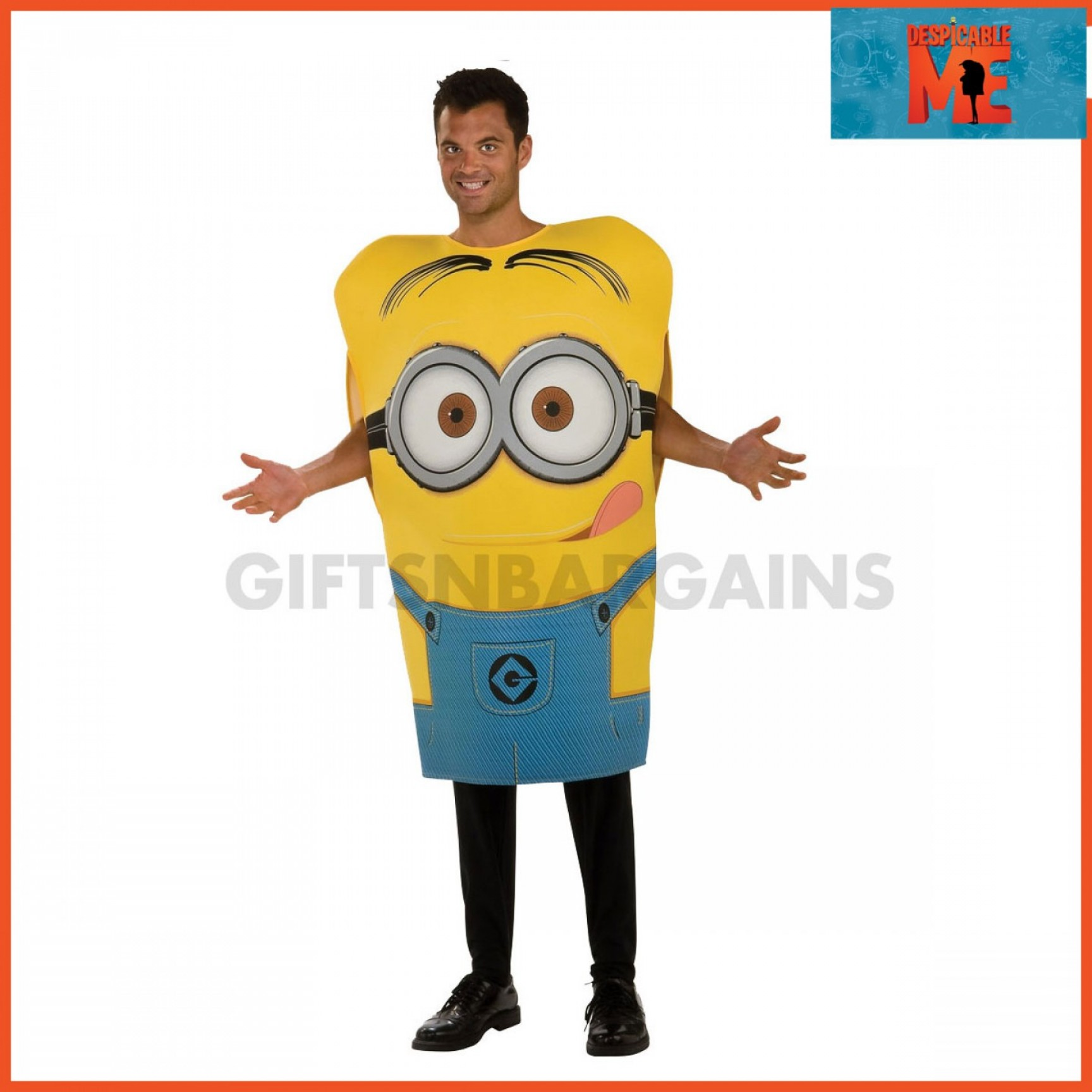 Minion From Despicable Me 2 Vector Image: Despicable Me Minions Dave Costume For Infants Toddlers Or Adults