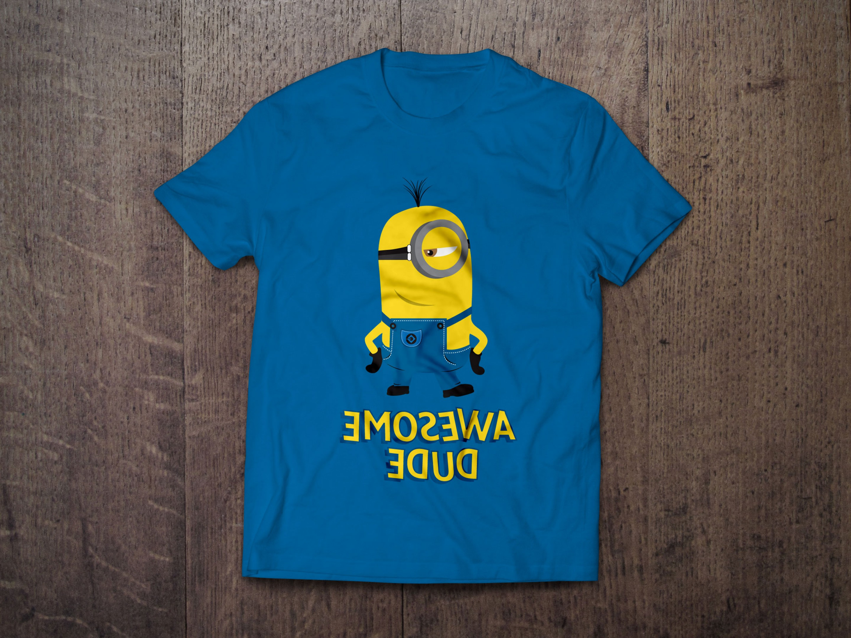 Real Name From Despicable Me Vectors: Despicable Me Vector Minion T Shirt Designs In Ai Eps