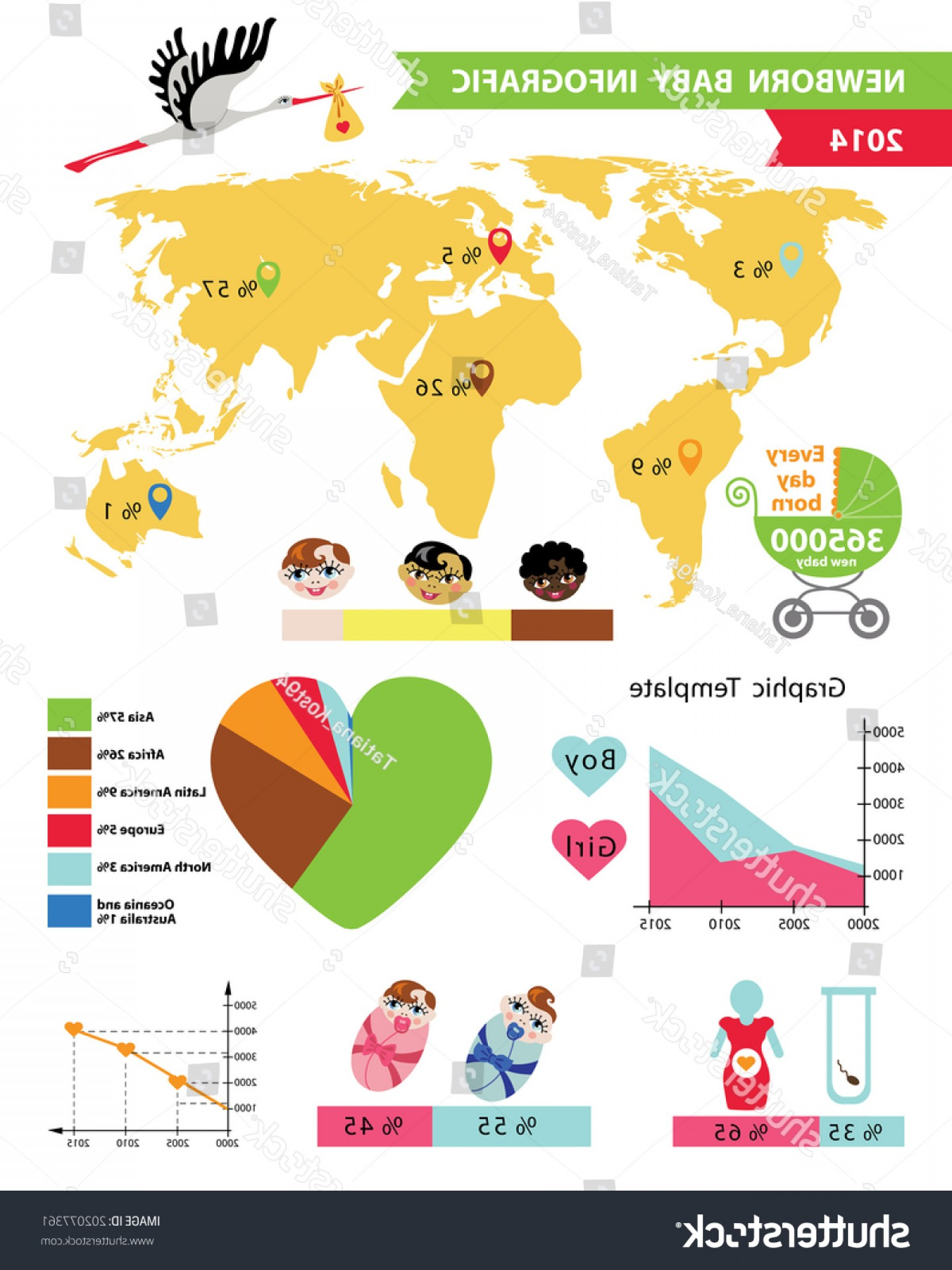45 Pet Vector Map: Detailed Vector Baby Infographic Sample Elements