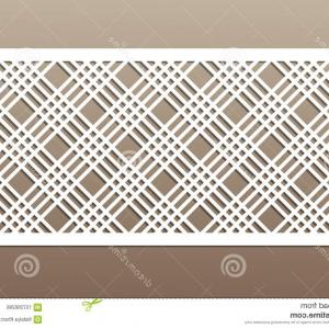 Vector Arabic Squiggly Line: Decorative Card Cutting Geometric Line Pattern Laser Decorative Card Cutting Geometric Line Pattern Laser Cut Ratio Vector Image