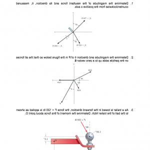 2.Solve Resultant Vectors: Given Three Vectors F F F See Diagram Angles Find Resultant Vector Three Using Q