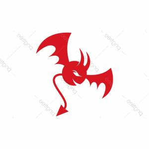 YouTube RedVector Real Life: Devil Logo Red Vector Icon Template