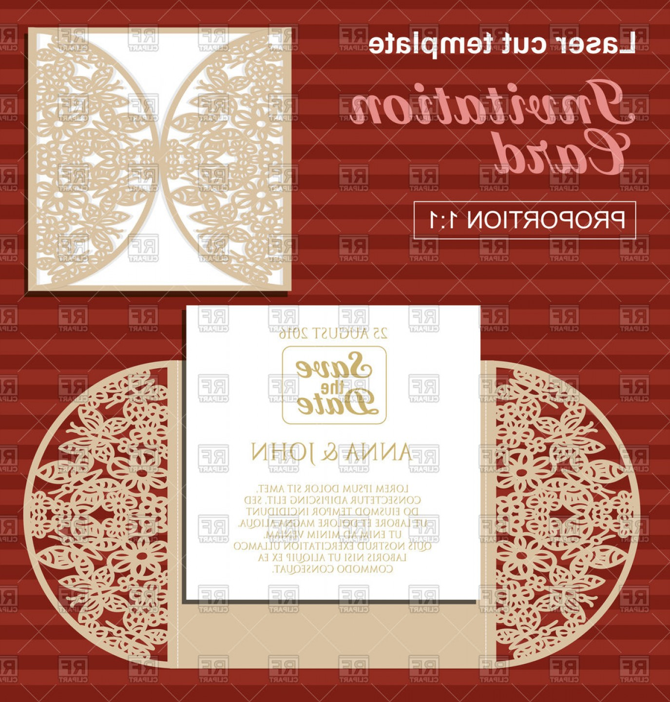 Dorable Affordable Fall Wedding Invitations Photos - Invitations and ...