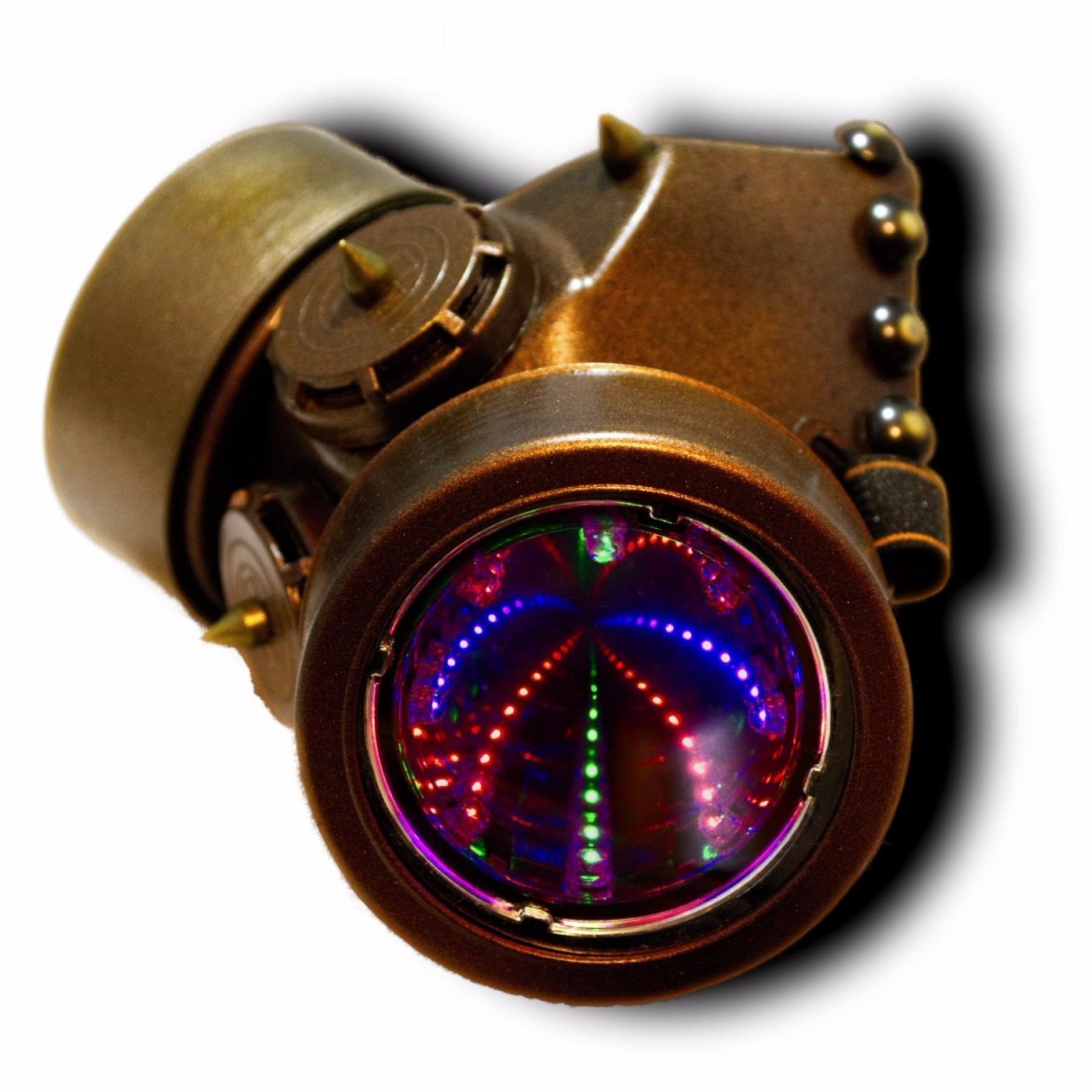Gas Mask Suit And Tie Vector: Dieselpunk Cosplay D Rgb Gas Mask