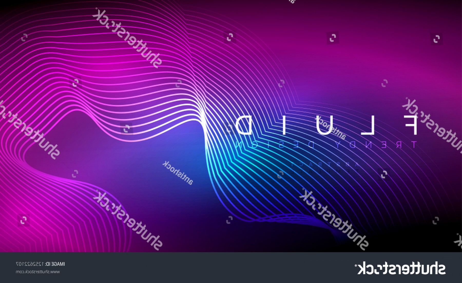 Vector Smoke Effect: Digital Flowing Wave Particles Abstract Background