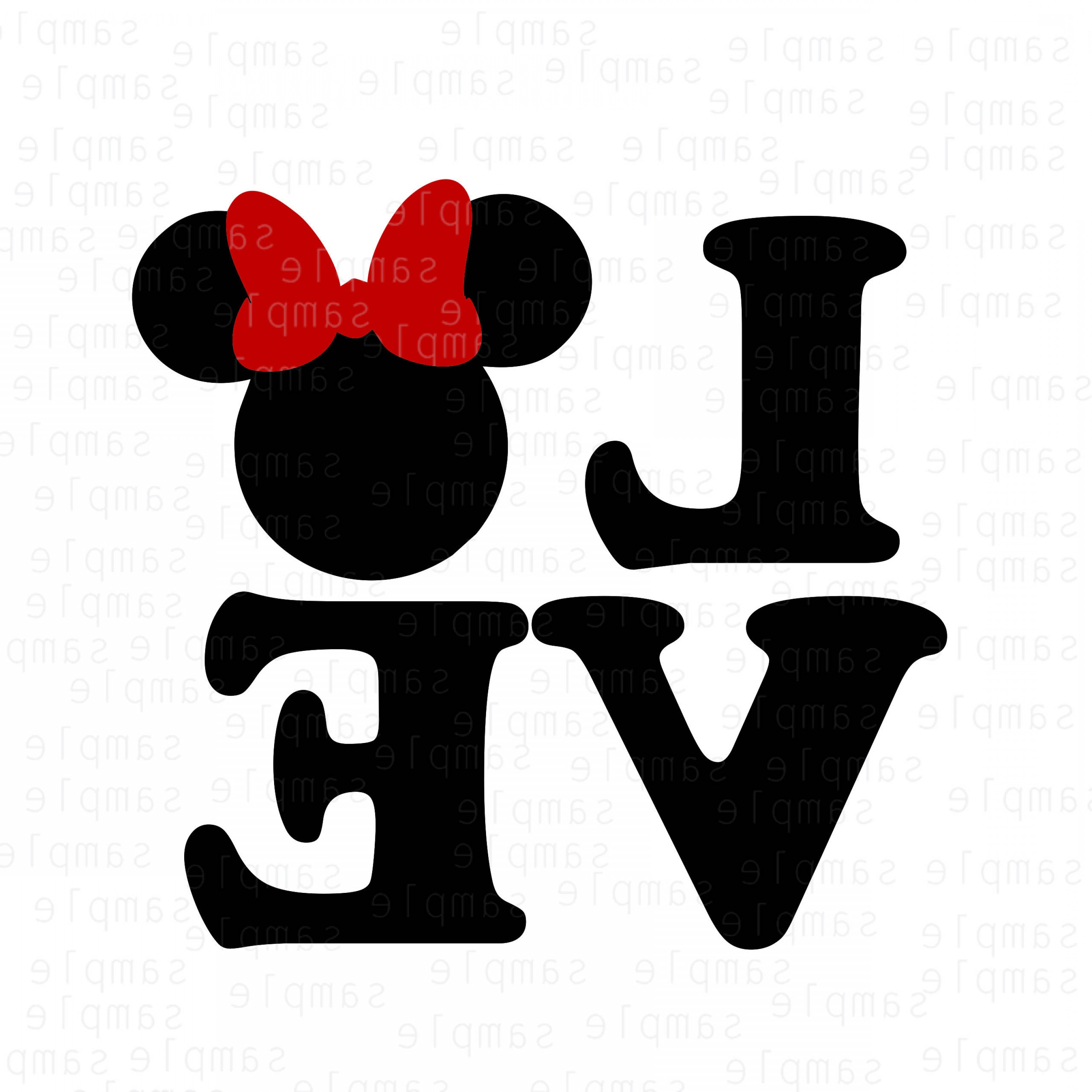 Mickey Vector: Disney Love Svg Mickey Svg Minnie Svg