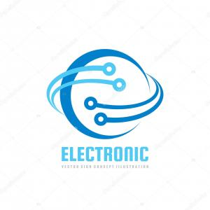 Graphics Technology Vector Logos: Digital Tech Vector Business Logo Template