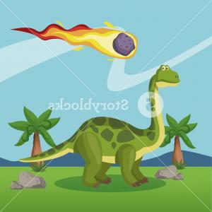 Vector Dinosorous: Dinosaurs Extinction Cartoons Icon Vector Illustration Graphic Design Sdislgjdjbuamd
