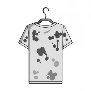 Dry Cleaning Vector: T Shirt Machine Concept Laundry And Dry Cleaning Vector