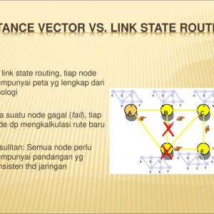 Distance Vector State And Link: Distance Vector Versus Linkstate Packetlifenet E