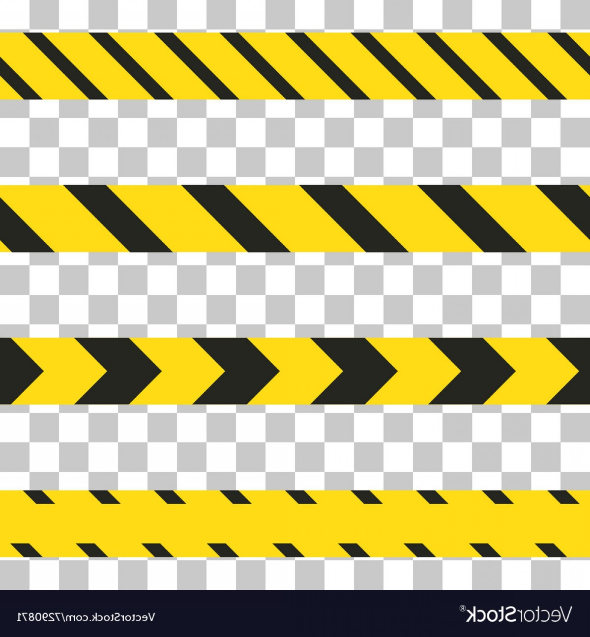 Caution Stripes Vector: Do Not Cross The Line Caution Tape Vector