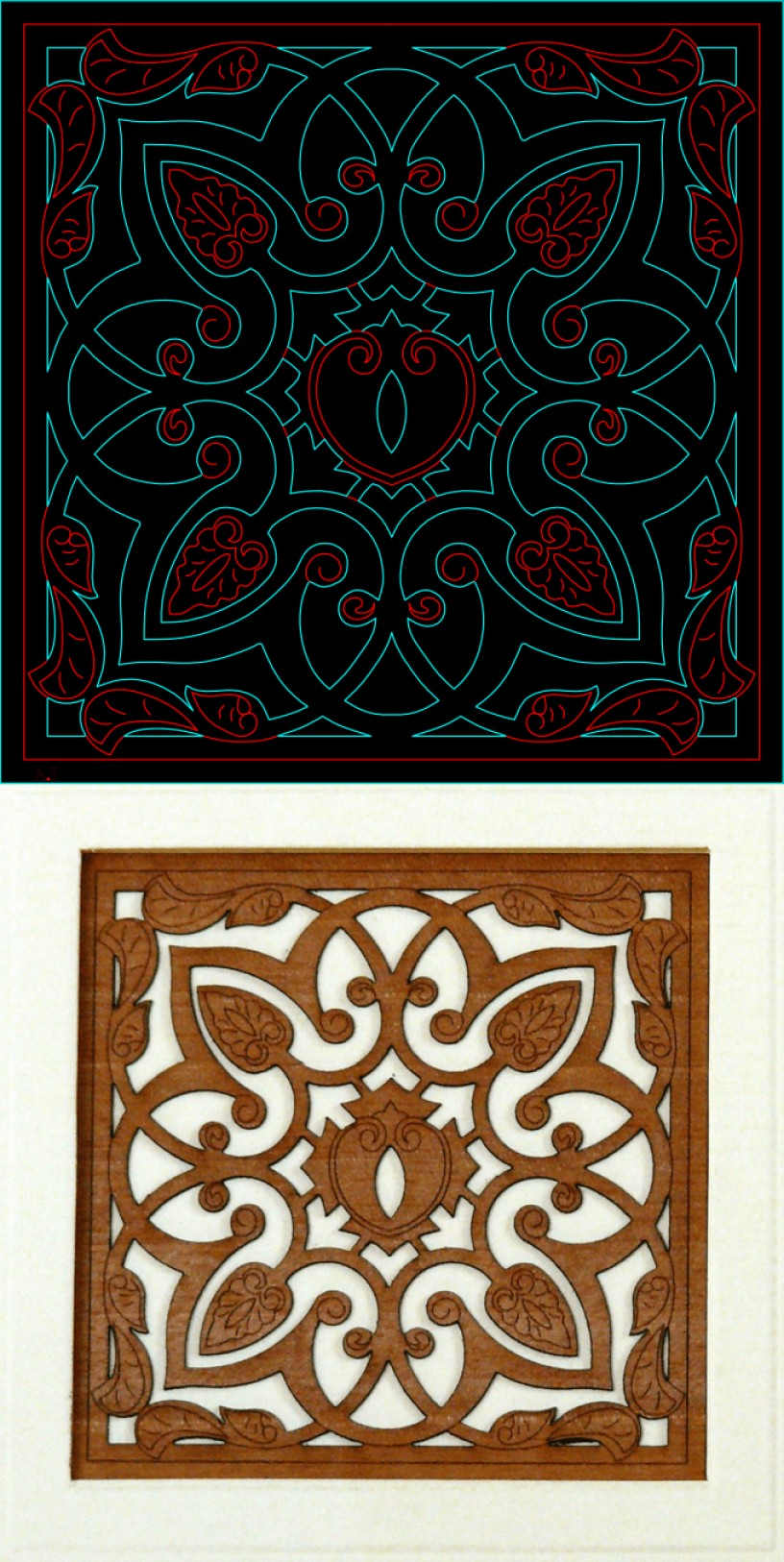 2D Vector Art For CNC Cutters: Do Shop Drawings For A Milling Machine Cnc Router Or A Laser Cutter