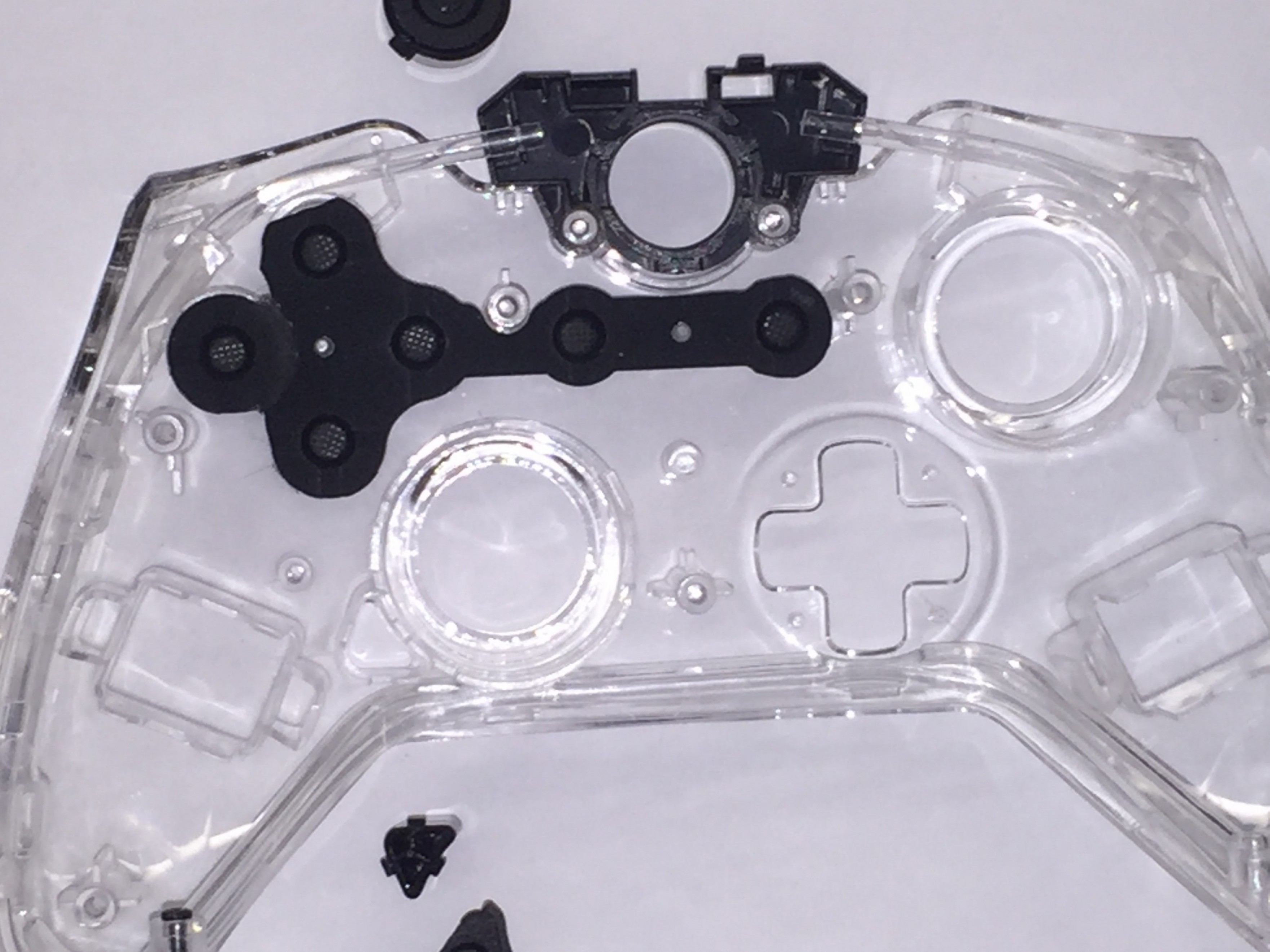 Xbox Game Controller Vector: Does The Xbox One Afterglow Controller Use The Same Conductive Rubber Button Con