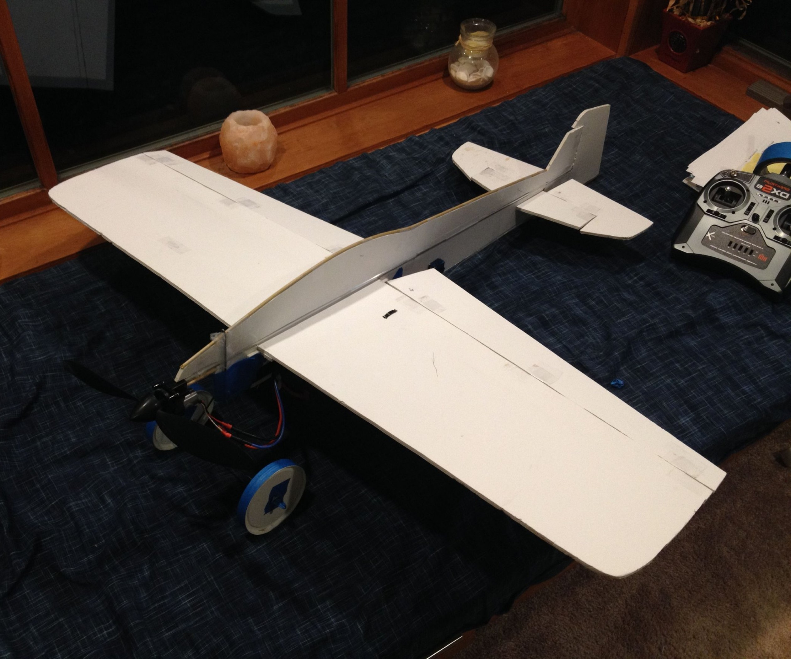 Model Planes Parts Vector: Done Dirt Cheap D Foamy Rc Airplane