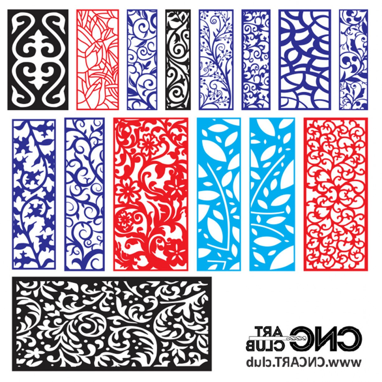 Vector CNC Designs: Download Free Divider Pattern Dxf File