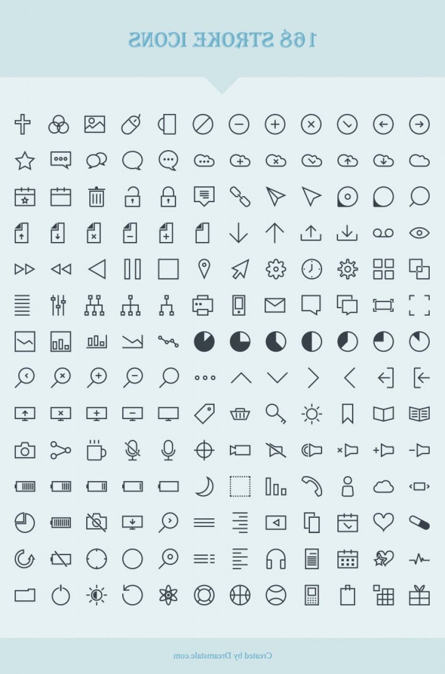 Free Vector Download Sites: Download Free Vector Stroke Icons