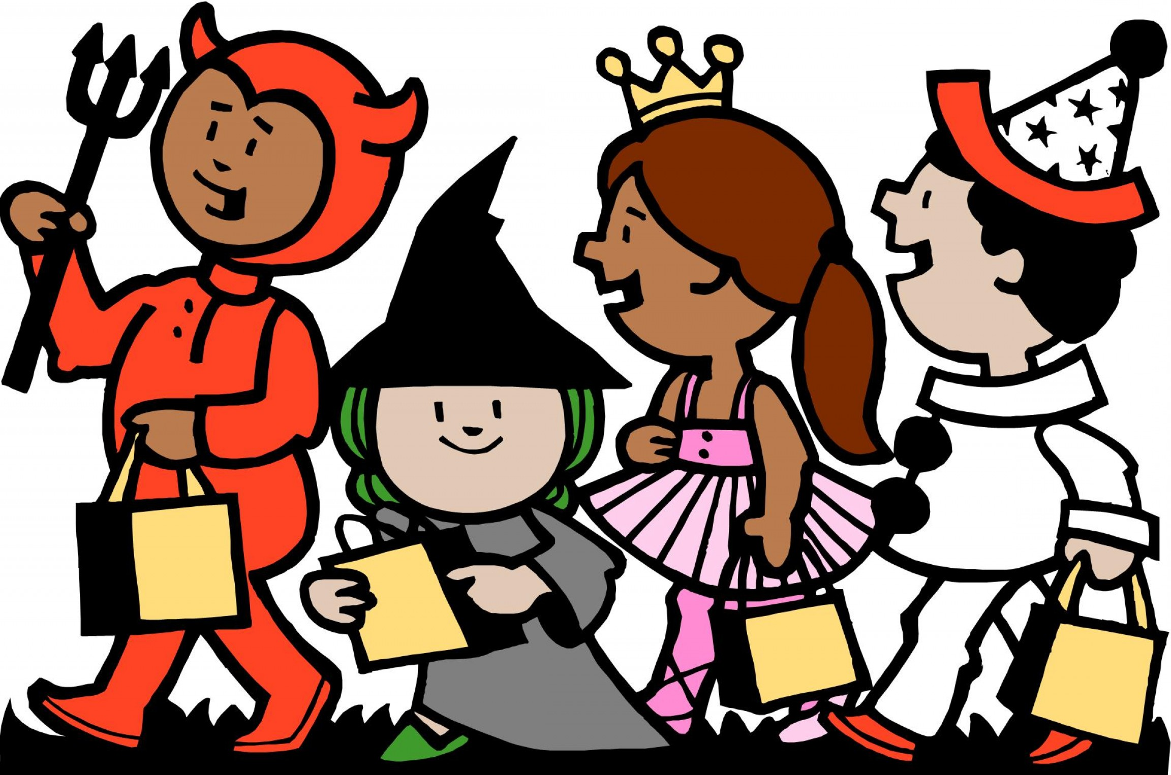 Committee Clipart -Vector: Downtown Village Trick Or Treating This Saturday Oct Pm