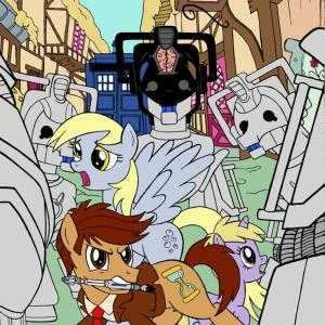 MLP Dr. Whooves Vector: Agc Derpy And Dr Whooves