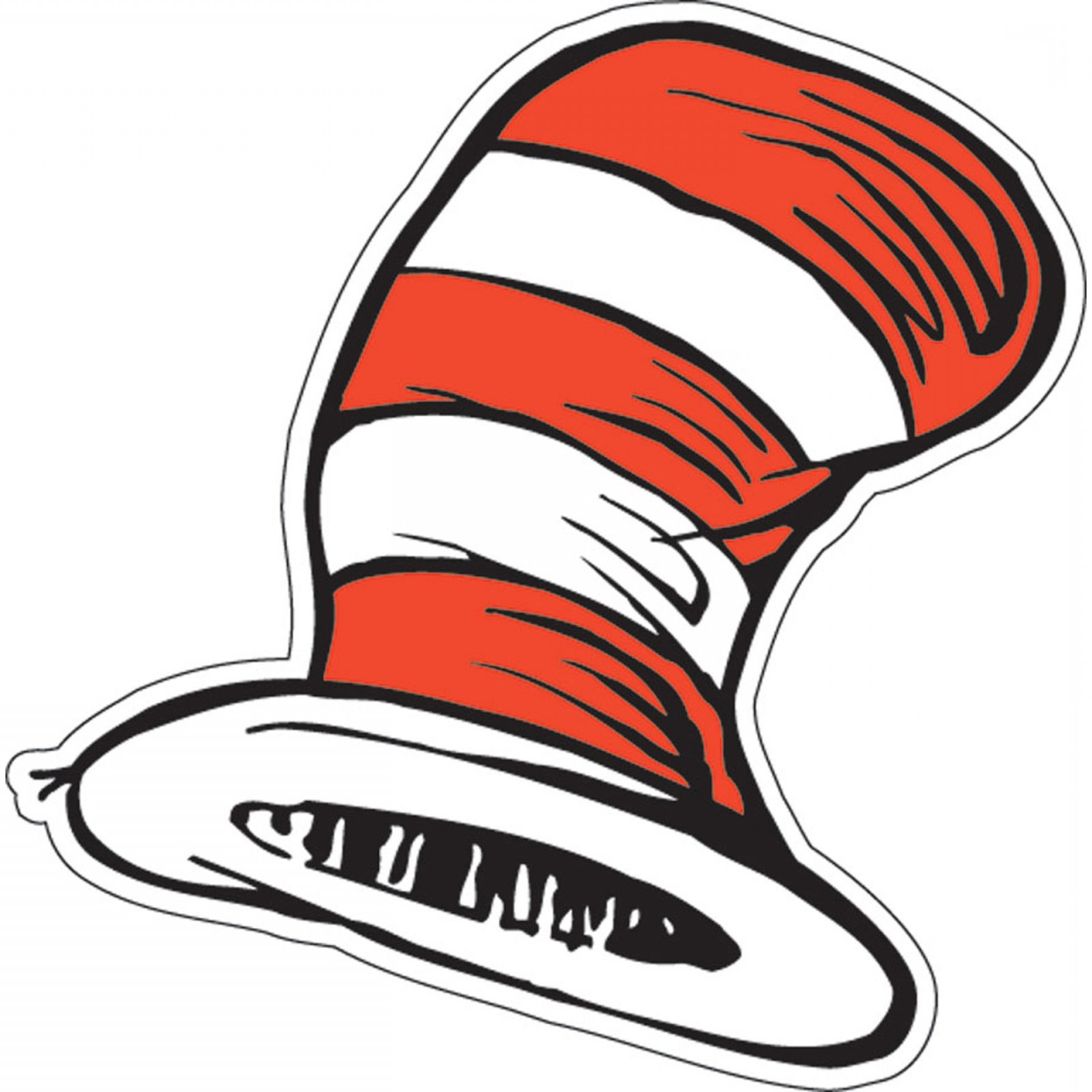 Dr. Seuss Hat Vector: Dr Seuss The Cats Hat Cutouts Count