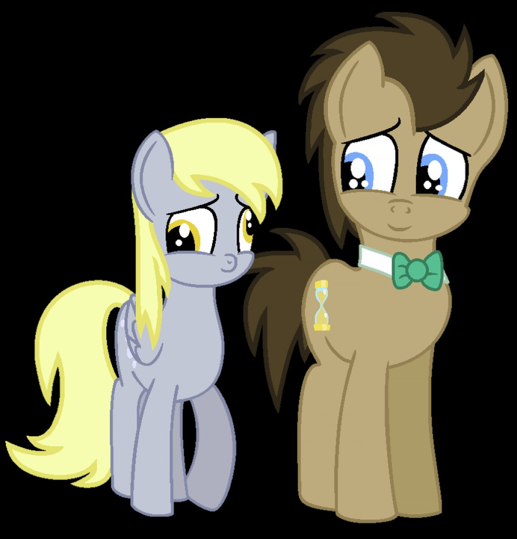 Derpy Hooves Vector: Dr Whooves And Derpy Hooves Vector