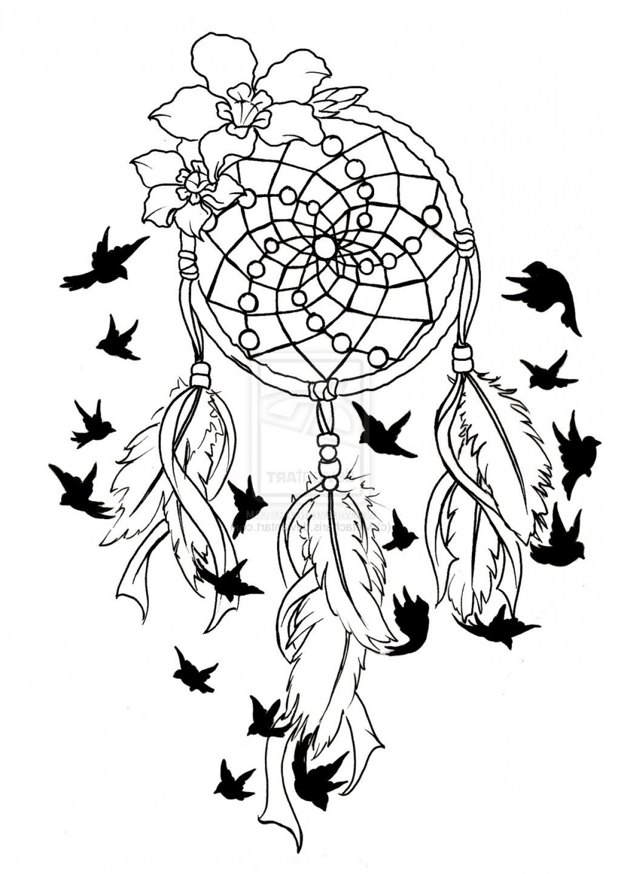 Dreamcatcher Tattoo Vector: Dreamcatcher Tattoo Designs Johny Fit Dreamcatcher Tattoo Designs Tattoo Dream Catchers Design