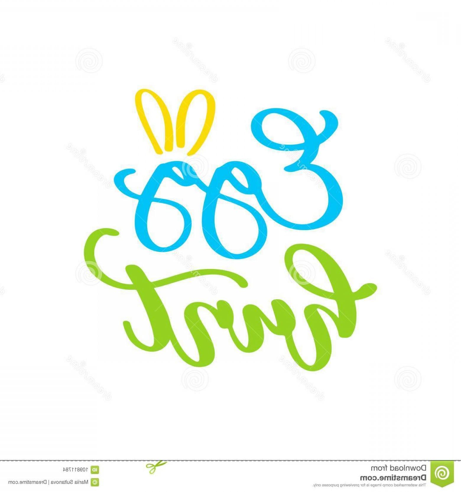 Season S Greetings Vector Free: Easter Egg Hunt Vector Lettering Hand Drawn Greeting Card Seasons Greetings Invitation Poster Label Banner Template Car Image