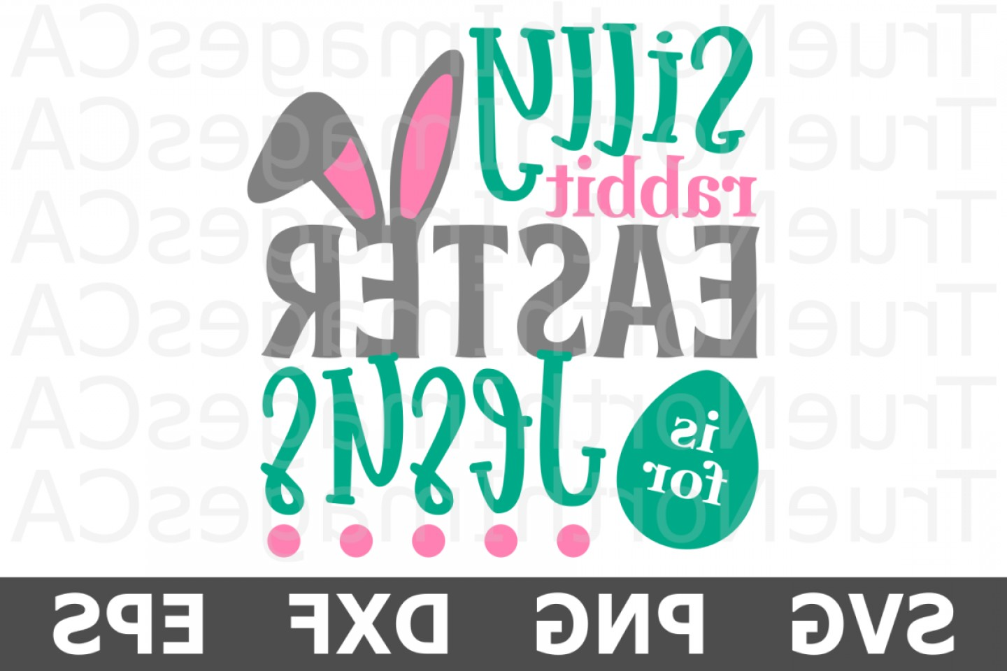 Religious Easter Vector Files: Easter Is For Jesus An Easter Svg Cut File