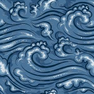 Ocean Wave Vector Illustration: Stock Illustration Ocean Wave Vector Collection Images