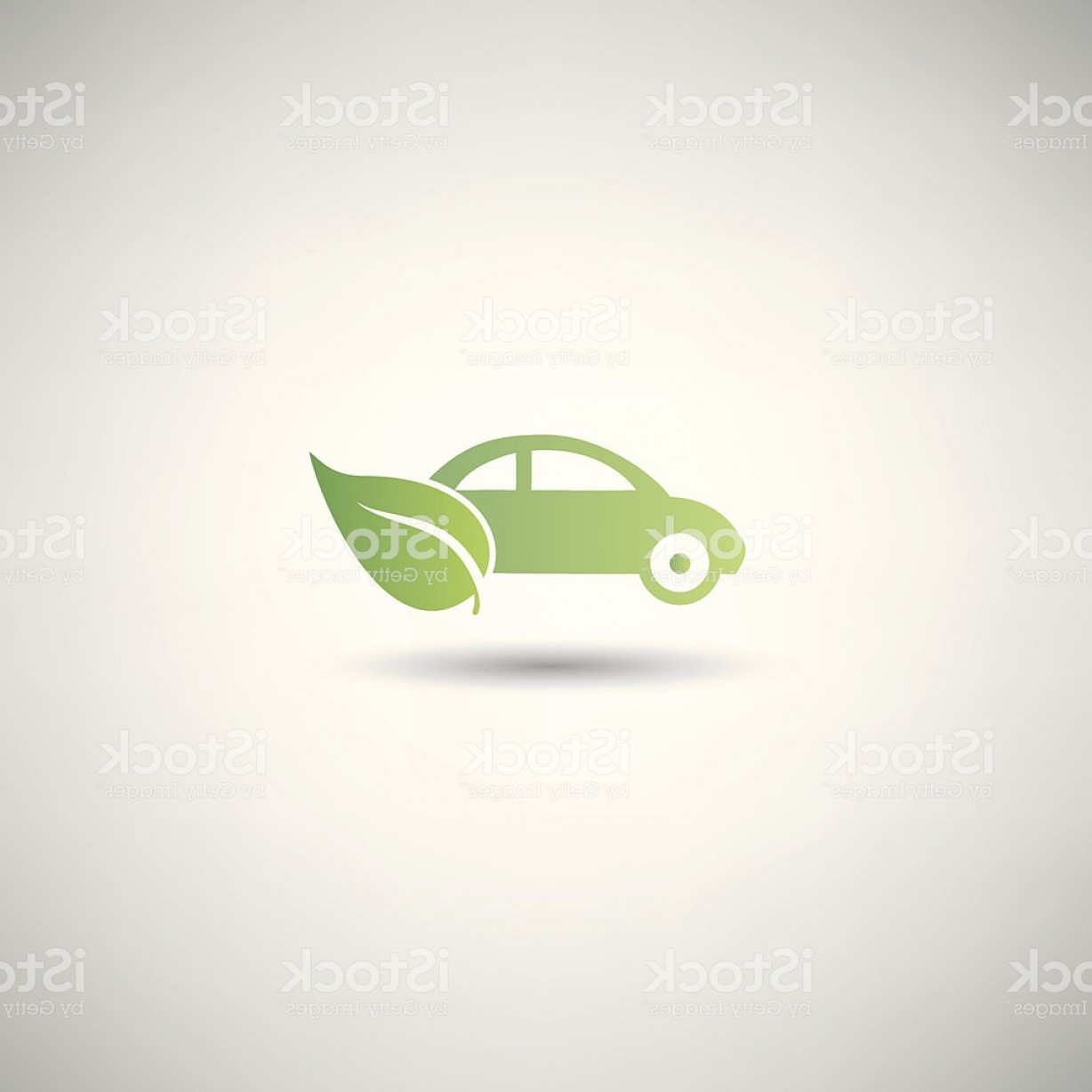 Mitsubishi Eclipse Vector: Eco Car Symbol Vector Gm