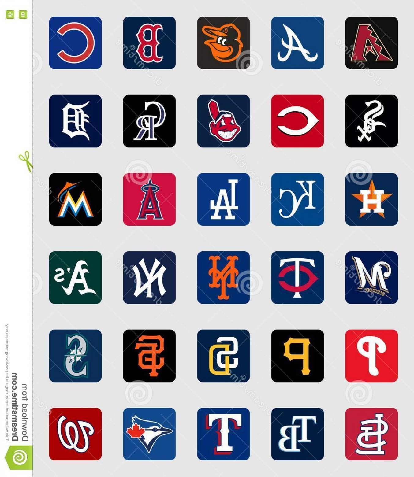 National League Baseball Logo Vector: Editorial Photo Major League Baseball Cap Insignia Logos High Quality Vector Collection Teams Eps File Available N Image