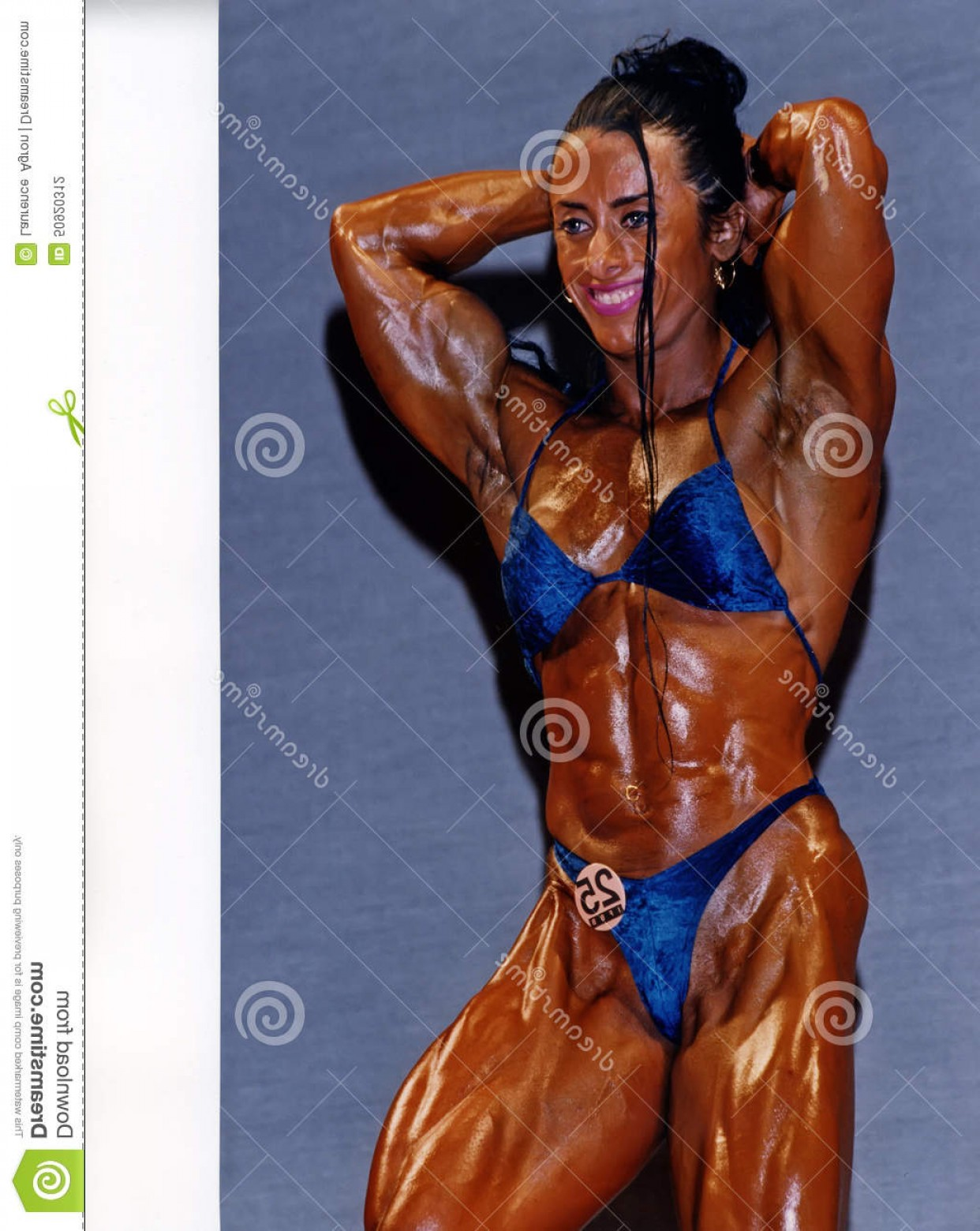Vector Abstract Woman Bodybuilder Physique: Editorial Photography Brazilian Hardbody Monica Martin Brazil Displays Top Flight Physique Professional Woman Bodybuilder Massive Image