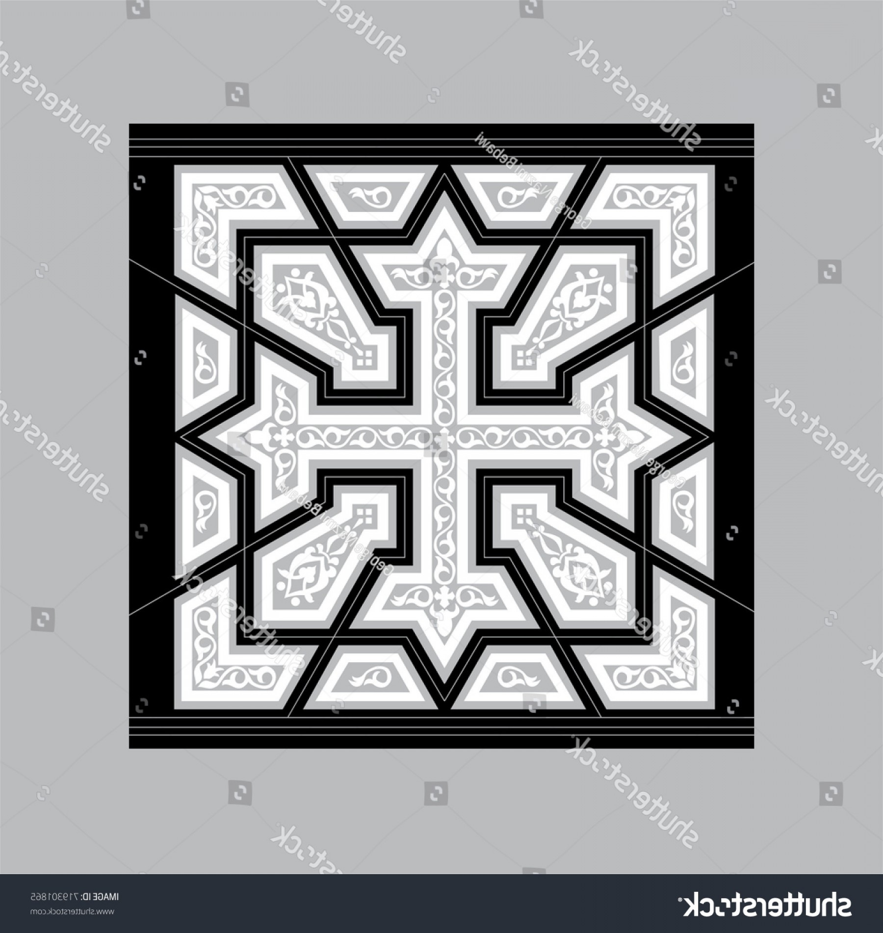 Vector CNC Designs: Egyptian Coptic Cross Vector Pattern Laser