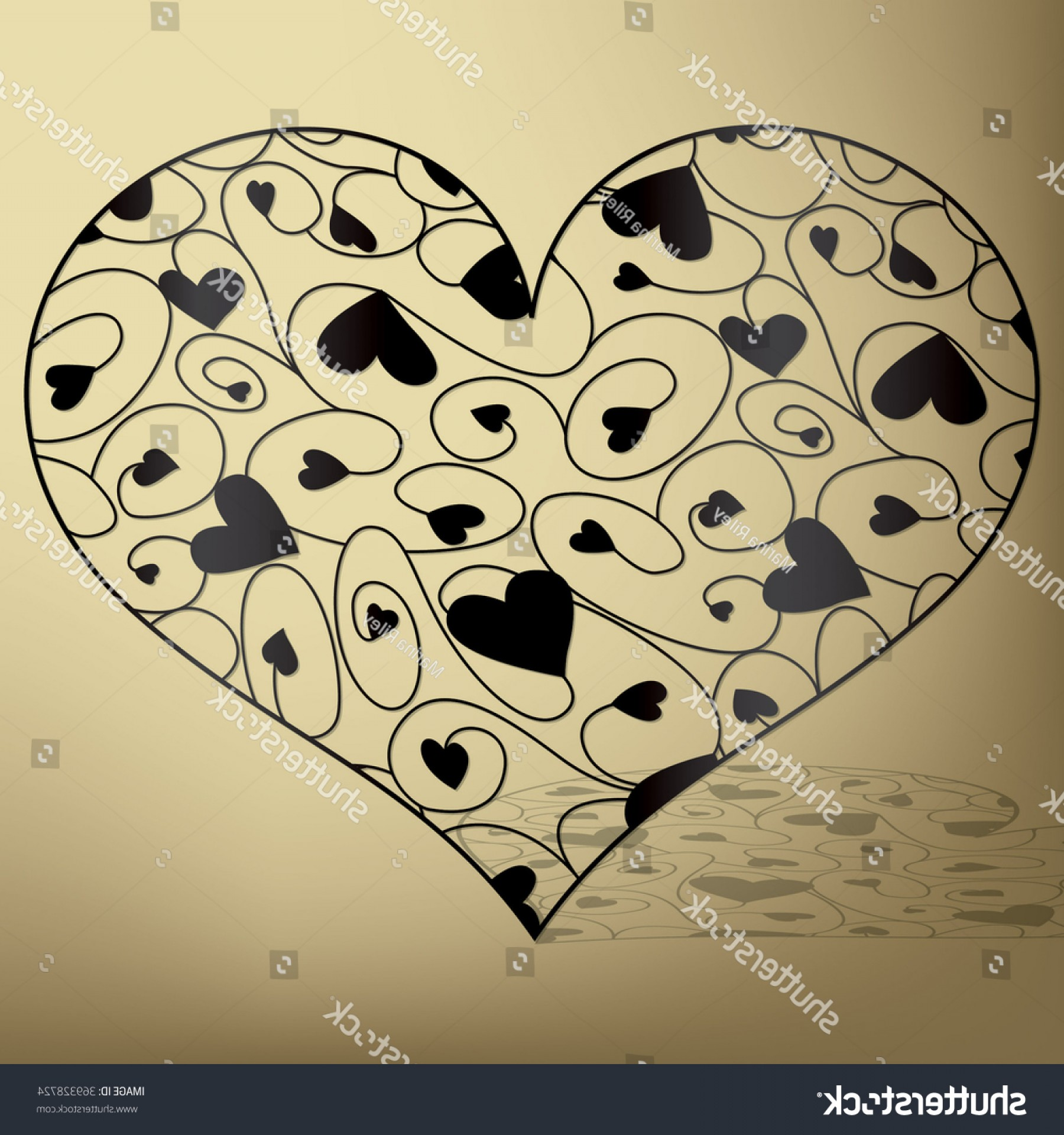 Vector Filigree Heart: Elegant Filigree Heart Vector Format