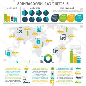 Expanding Population Icon Vector: Electric Car Charging Station World Distribution