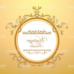 Elegant Gold Vector Designs: Elegant Diamond And Gold Background Vintage Frame Vector Gm