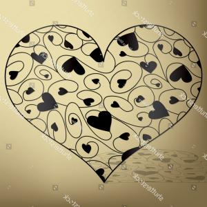 Vector Filigree Heart: Stock Illustration Elegant Filigree Heart In Vector
