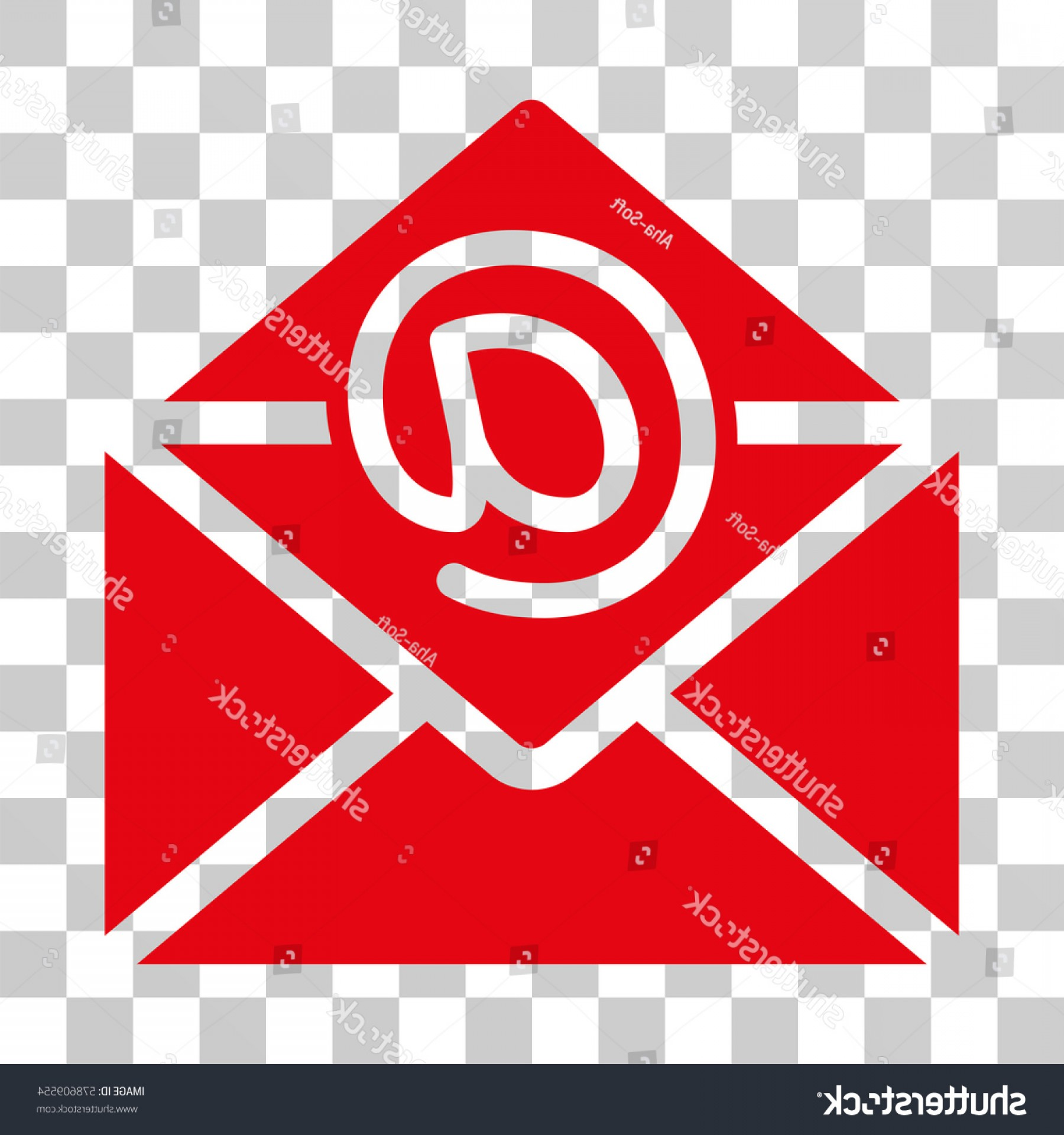 Small Email Icon Vector: Email Icon Vector Illustration Style Flat