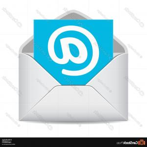 Email Clip Art Vector: Email Icon Website Contacts Symbol
