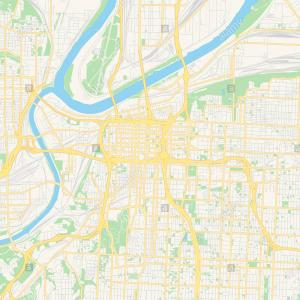 St Missouri Vector Map: Empty Vector Map Of St Peters Missouri Usa