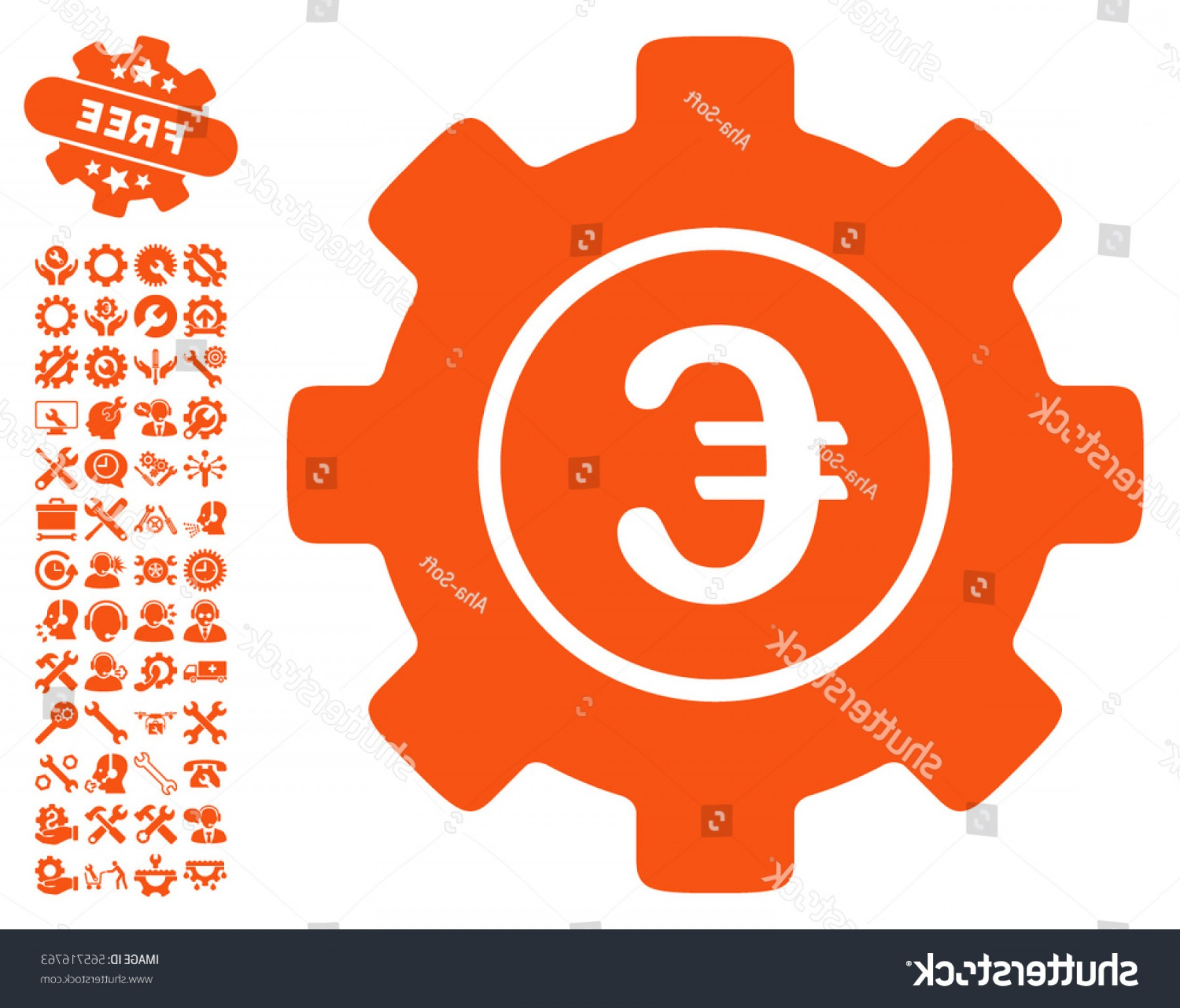Vector Configuration: Euro Development Gear Pictograph Bonus Configuration