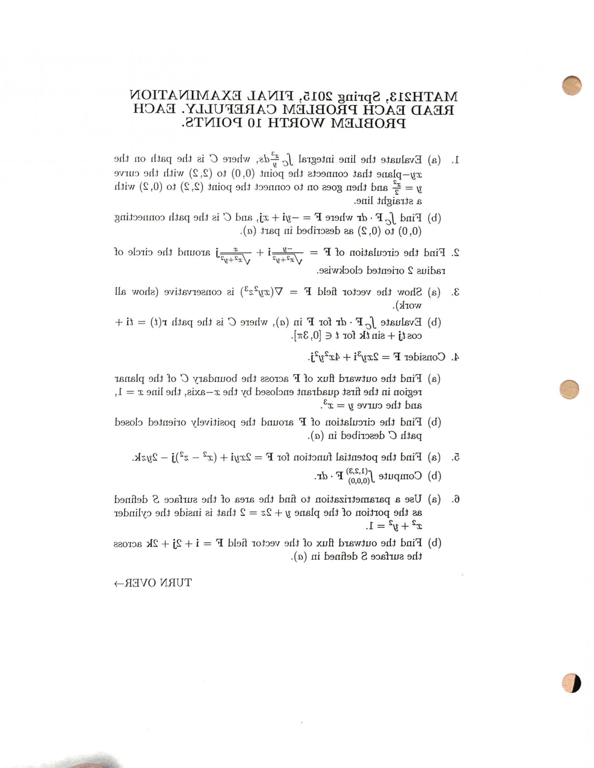 Across A Field A Vector C Curve Of Flux: Evaluate Line Integral Integralc X Y Ds C Path Xy Plane Connects Point Curve Y X Q