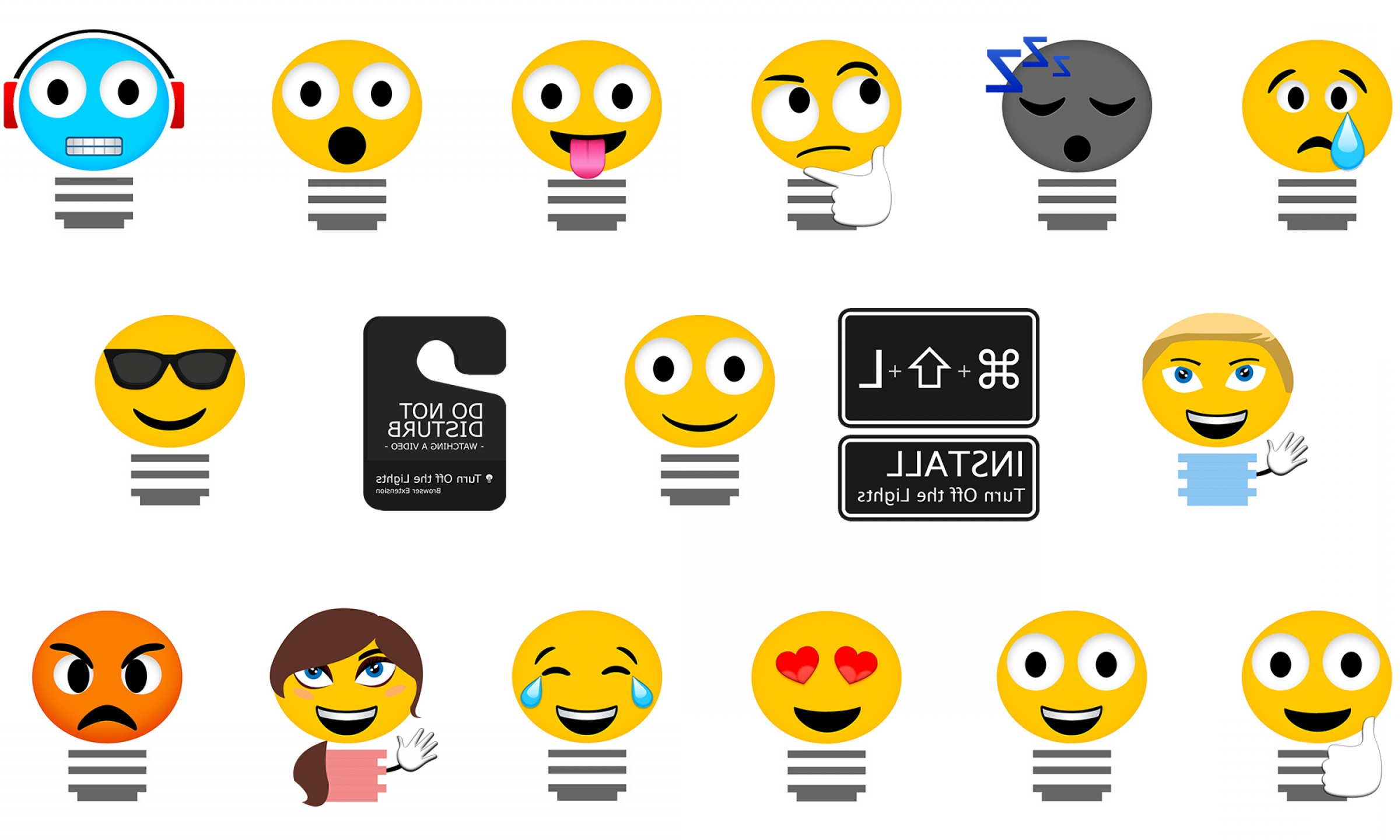 IPhone Emoji Vectors Van: Exclusive Imessage Stickers To Share With Your Friends