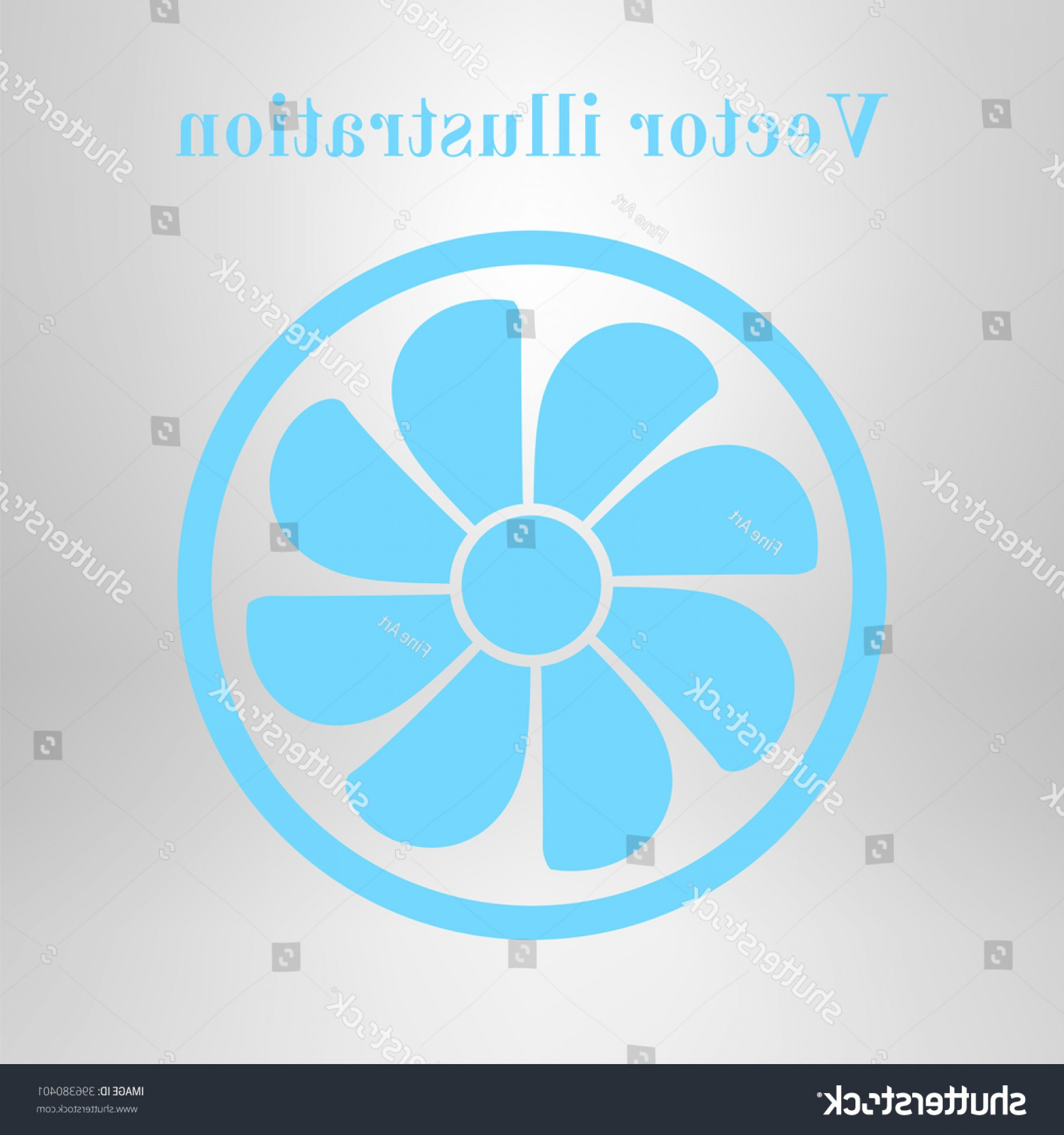 Vector Exhaust Fan: Exhaust Fan Icon Ventilator Symbol
