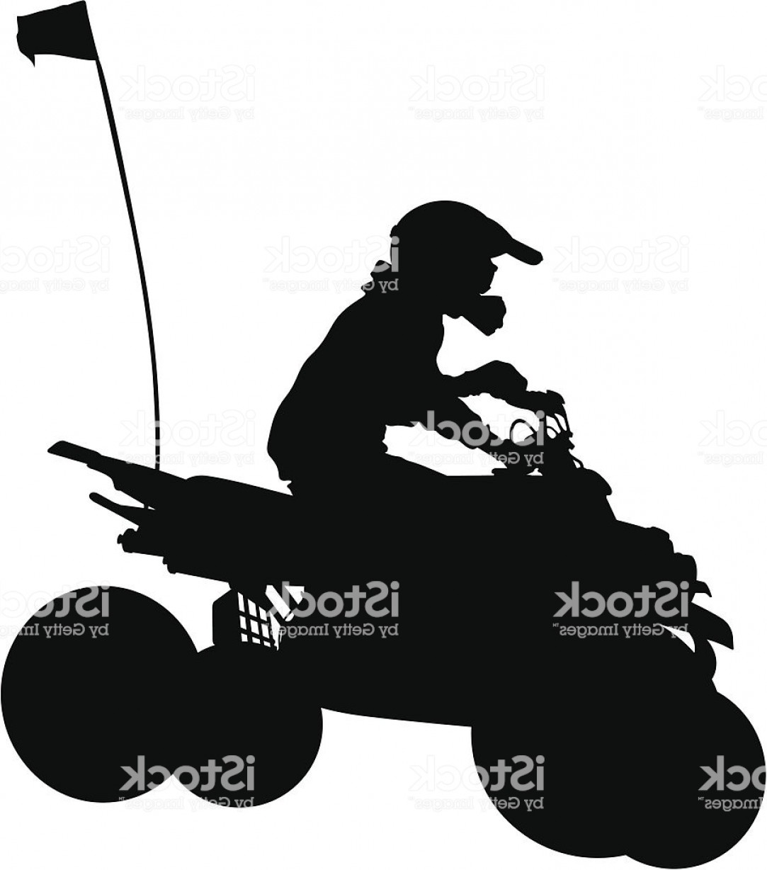 4 Wheeler Vector Art: Extreme Off Roading Vehicle Four Wheeler Gm