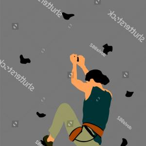 Climbing Army Vector: Army Soldiers Silhouette Vector Isolated On