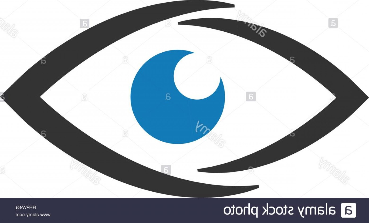 Eye Vector Template: Eye Icon Graphic Design Template Vector Isolated Image