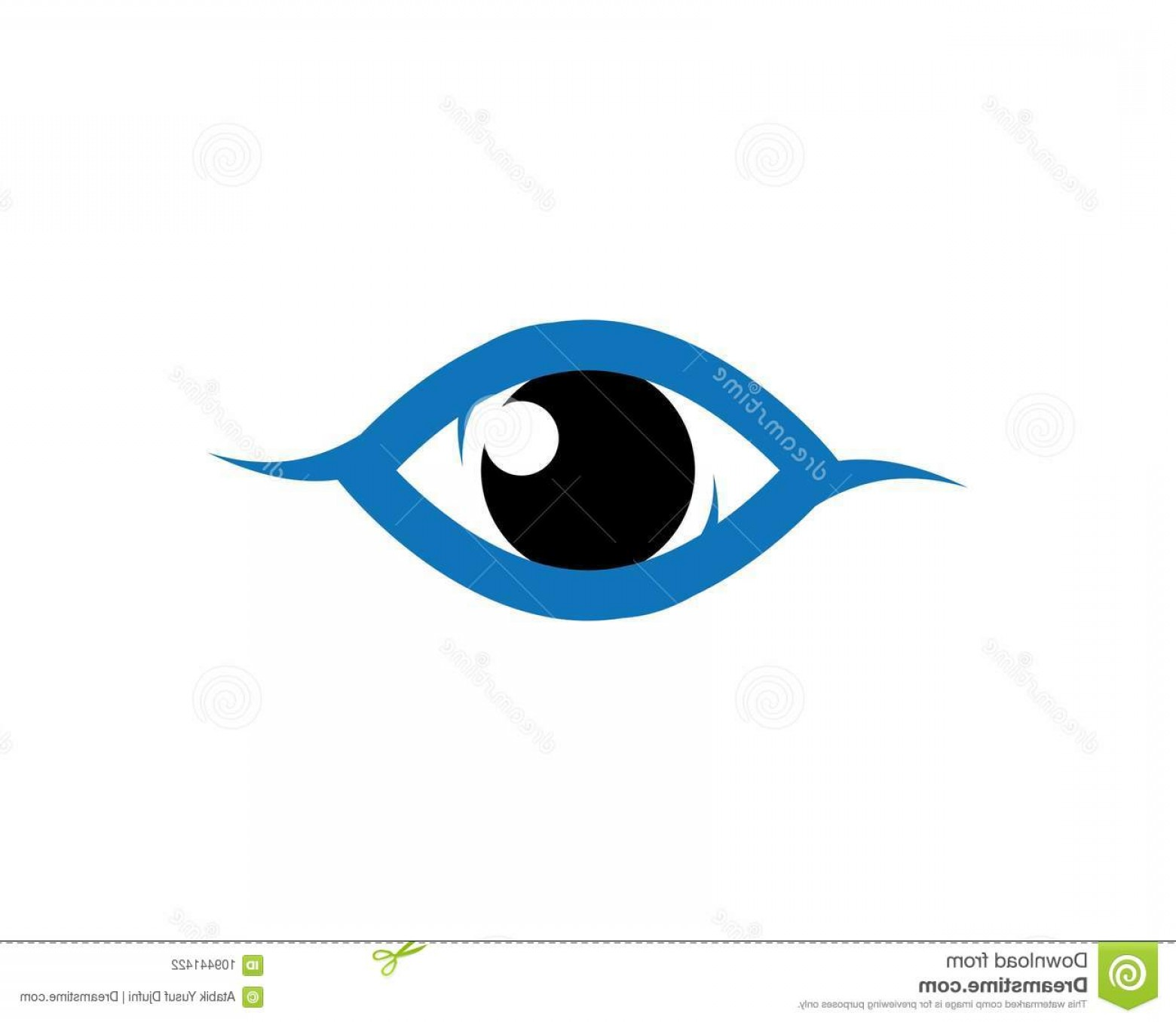 Eye Vector Logo: Eye Vector Icon Illustration Design Eye Vector Logo Icon Illustration Design Image